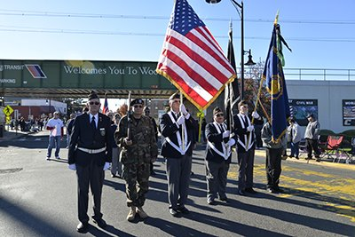 Woodbridge Township Honors Veterans at Annual Veterans Day Parade & Ceremony