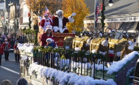 Holiday Parade with Santa
