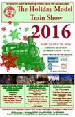 Holiday Train Show Flyer
