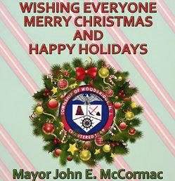 Merry Christmas from Mayor McCormac