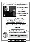 Martin Luther King Event Flyer