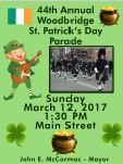 St. Patrick's Day Parade Flyer