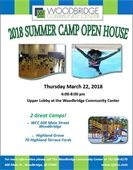 Camp open house