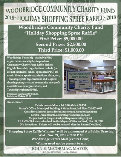 Holiday Shopping Spree Raffle