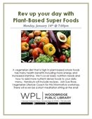 Rev up your day with superfoods