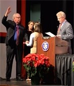McCormac Sworn in