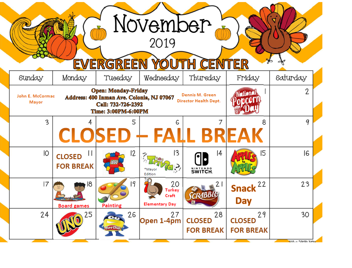Youth Center November 2019