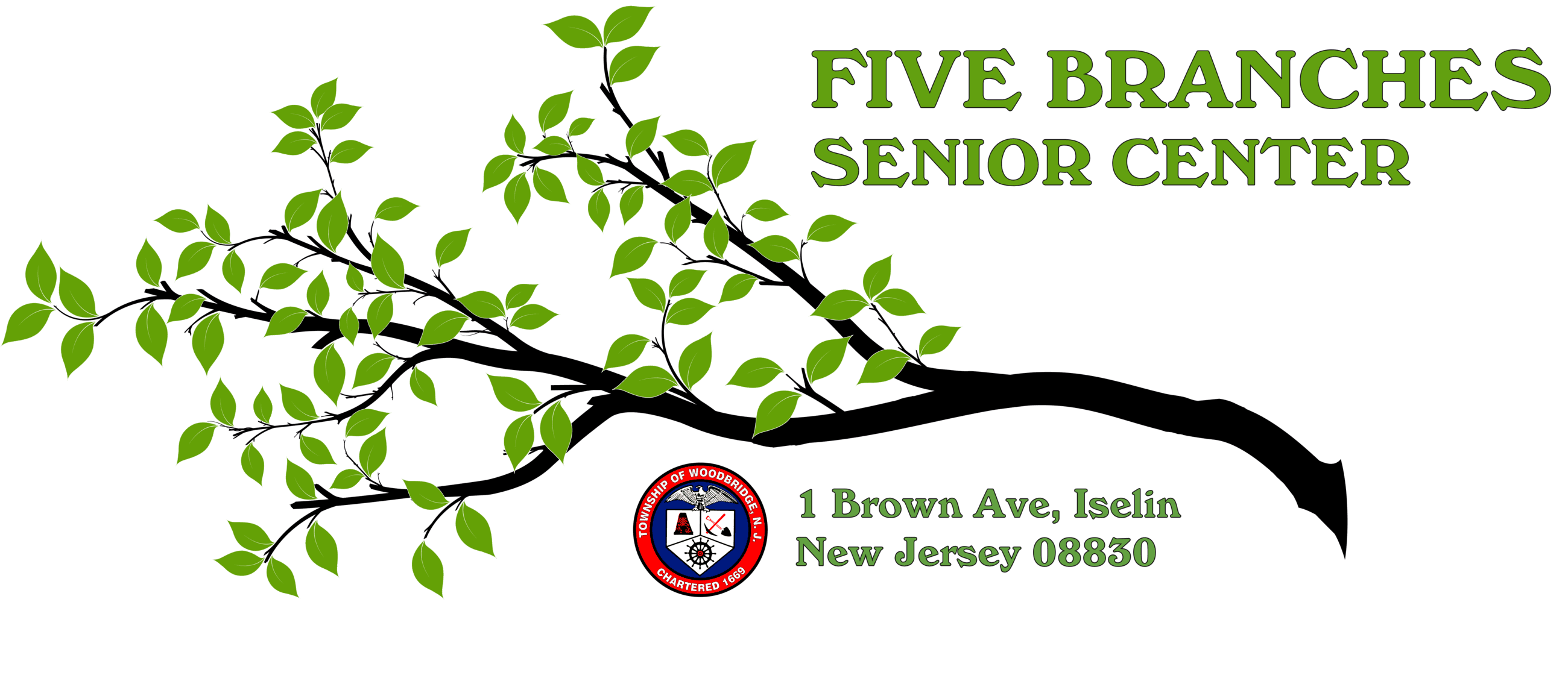 five branches logo