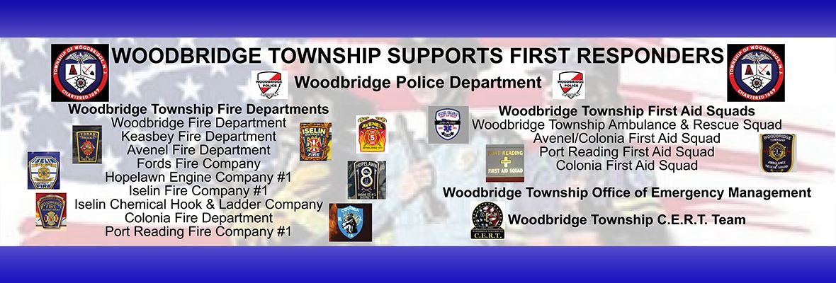 Woodbridge Township Salutes First Responders