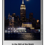In the Still of the Night: The NJ Photography Forum
