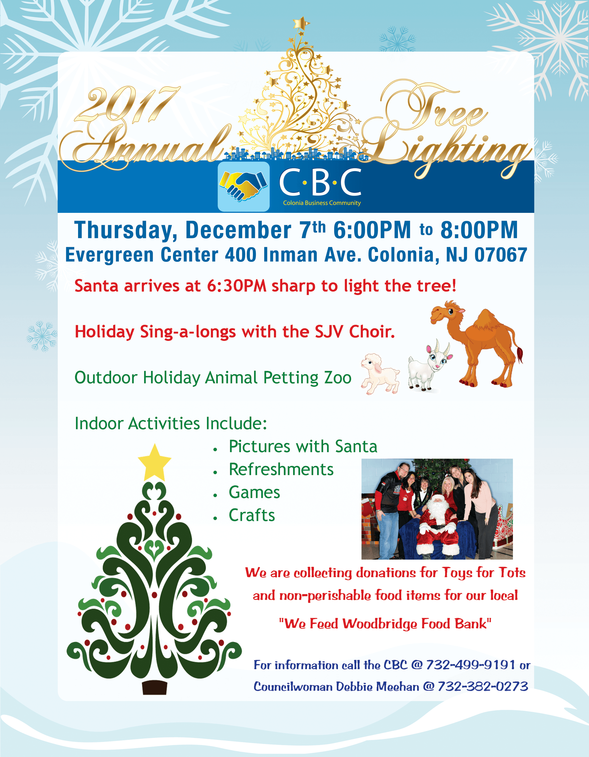 2017 CBC Tree Lighting