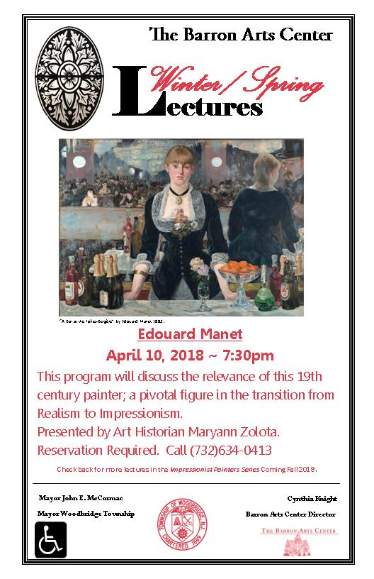 Lecture: Edouard Manet