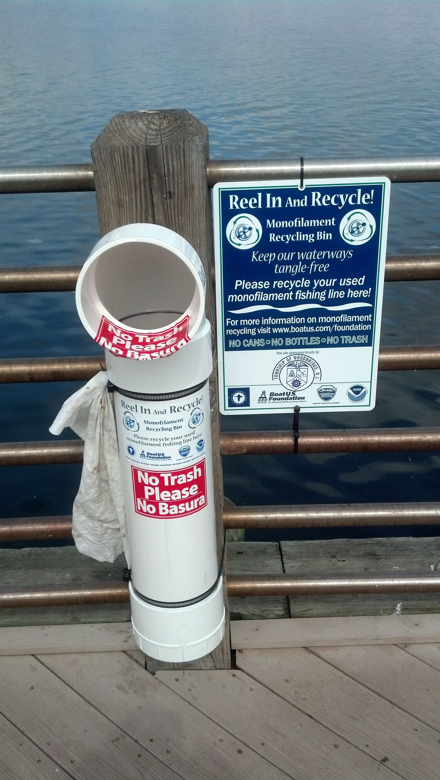 Fishing Line Recycling - Boat Launch 2018