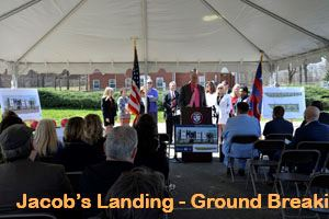 Jacobs Landing - Ground Breaking - Podium - 4-13-17