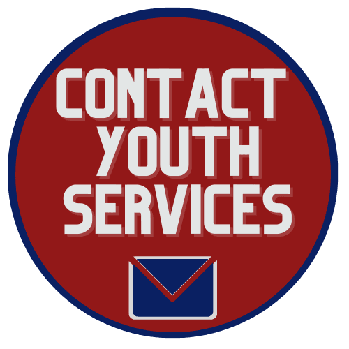 Youth Services Buttons Contact