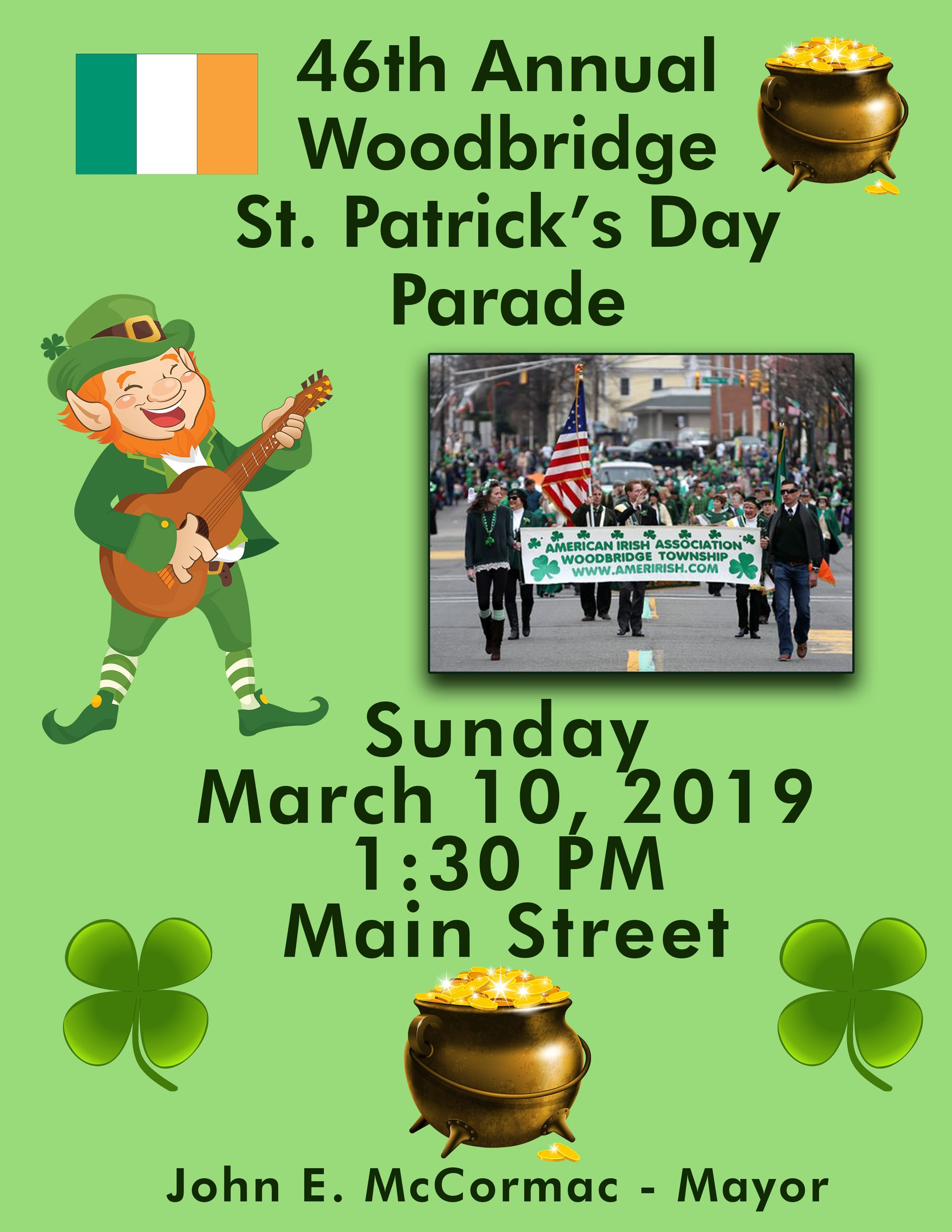 St Pats Parade Flyer2019