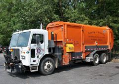 Woodbridge Sanitation Truck